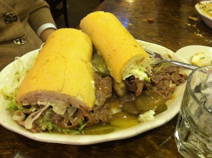 What a Roast Beef Po Boy is supposed to look like