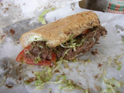 The Roast Beef Po Boy