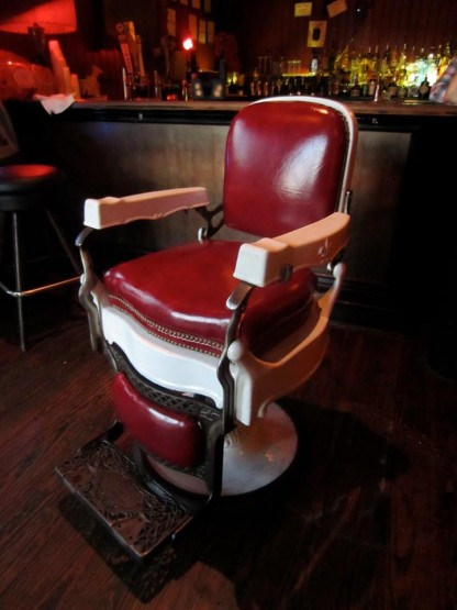 Barber Chair at RBar